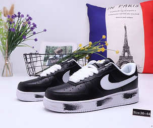 """Кроссовки Nike Air Force 1 """"Black and White"""" (36-44), фото 2"""