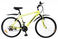 """Велосипед внедорожный Torrent City Cruiser (18 скоростей, колеса 26д, рама сталь 18"""", Green-Yellow)"""