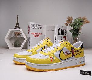 "Кроссовки Nike Air Force 1 ""White\Yellow"" (40-45), фото 2"