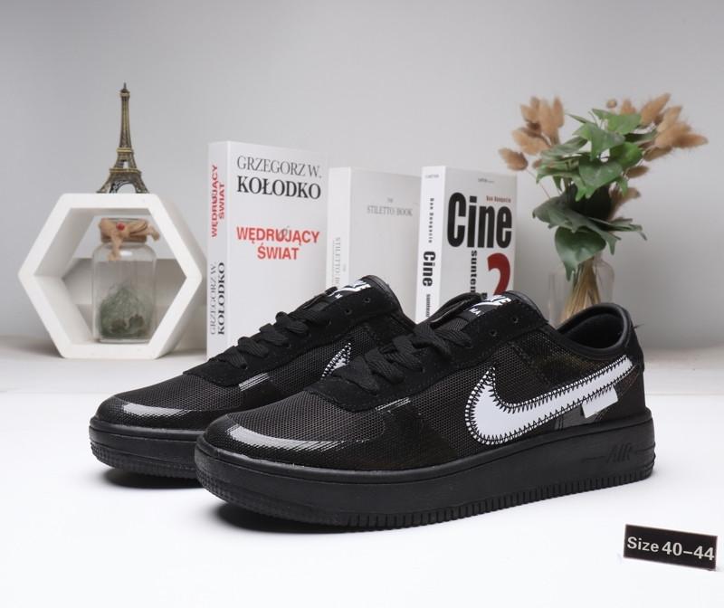 "Кроссовки Nike Air Force 1 ""Black"" (40-44)"