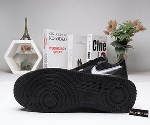 """Кроссовки Nike Air Force 1 """"Black"""" (40-44), фото 2"""