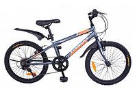 """Велосипед подростковый Torrent Totem (7 скоростей, колеса 20д, рама сталь 10,5"""", Gray)"""