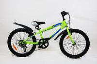 """Велосипед подростковый Torrent Totem (7 скоростей, колеса 20д, рама сталь 10,5"""", Green)"""