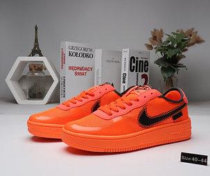 """Кроссовки Nike Air Force 1 """"Orange"""" (40-44), фото 2"""