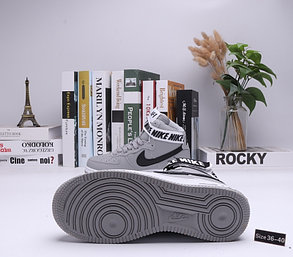 "Кроссовки Nike Air Force 1 High ""Gray"" (36-40), фото 2"