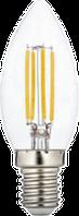 Светодиодная лампа ПРОГРЕСС PREMIUM С35F СВЕЧА 7Вт E14 4000К