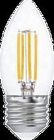 Светодиодная лампа ПРОГРЕСС PREMIUM С35F СВЕЧА 7Вт E27 4000К