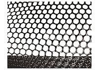 Сетка газонная в рулоне 1,6 х 30 м, ячейка 9 х 9 мм, черная Россия