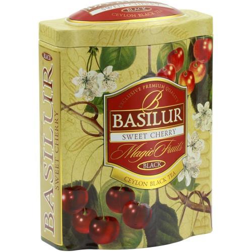 Чай чёрный рассыпной Волшебные фрукты Вишня и черешня, 100гр Basilur