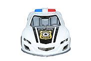 MS0015 Полицейская машина бугати 36*11см, фото 2