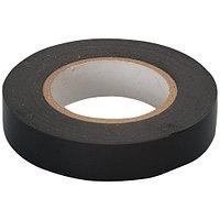Изолента ПВХ, 15 мм х 10 м, черная Сибртех