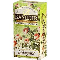 Чай зелёный пакетированный Букет Белая Магия White Magic, 25пак Basilur