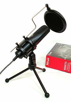 Конденсаторный микрофон Trust GXT 232 Mantis