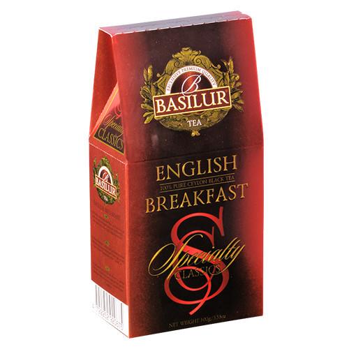 Чай чёрный рассыпной Избранная классика Английский Завтрак English Breakfast, 100гр Basilur