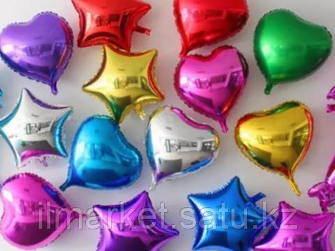 Звезды шары гелиевые - фото 2