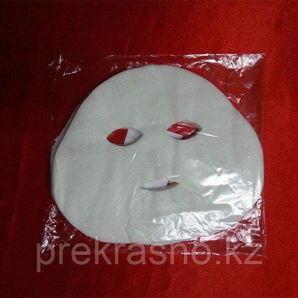 Маска 25шт лицо косметологическая спанлейс Ч - фото 2
