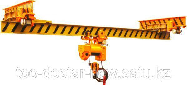 Кран мостовой однобалочный подвесной Электрический 5т