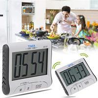 Электронные часы таймер для кухни с большим ЖК-экраном, магнитное крепление (Digital S, DC-101)