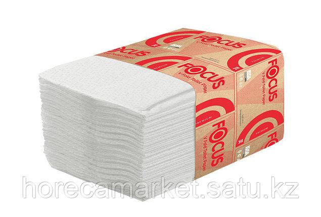 Туалетная бумага Focus Premium V-укладка L108  30x250лис, фото 2