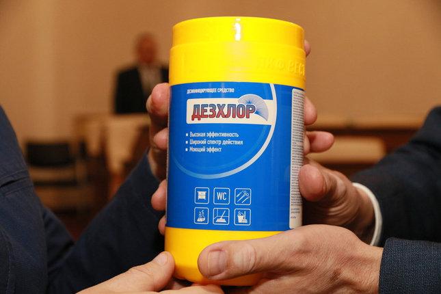 Средство для дезинфекции ДезХлор № 300, фото 2