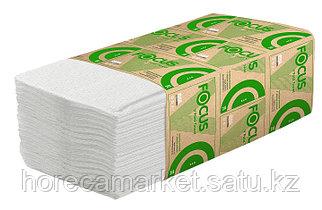 Бумаж.полотенце Focus Eco V-укладка 1сл.23x23см 15х250лис