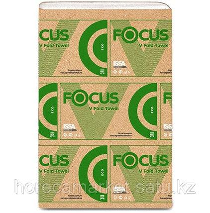 Бумаж.полотенце Focus Eco V-укладка 1сл.23x20.5см 15х200лис, фото 2