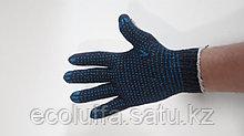 Перчатки с ПВХ 56гр серые