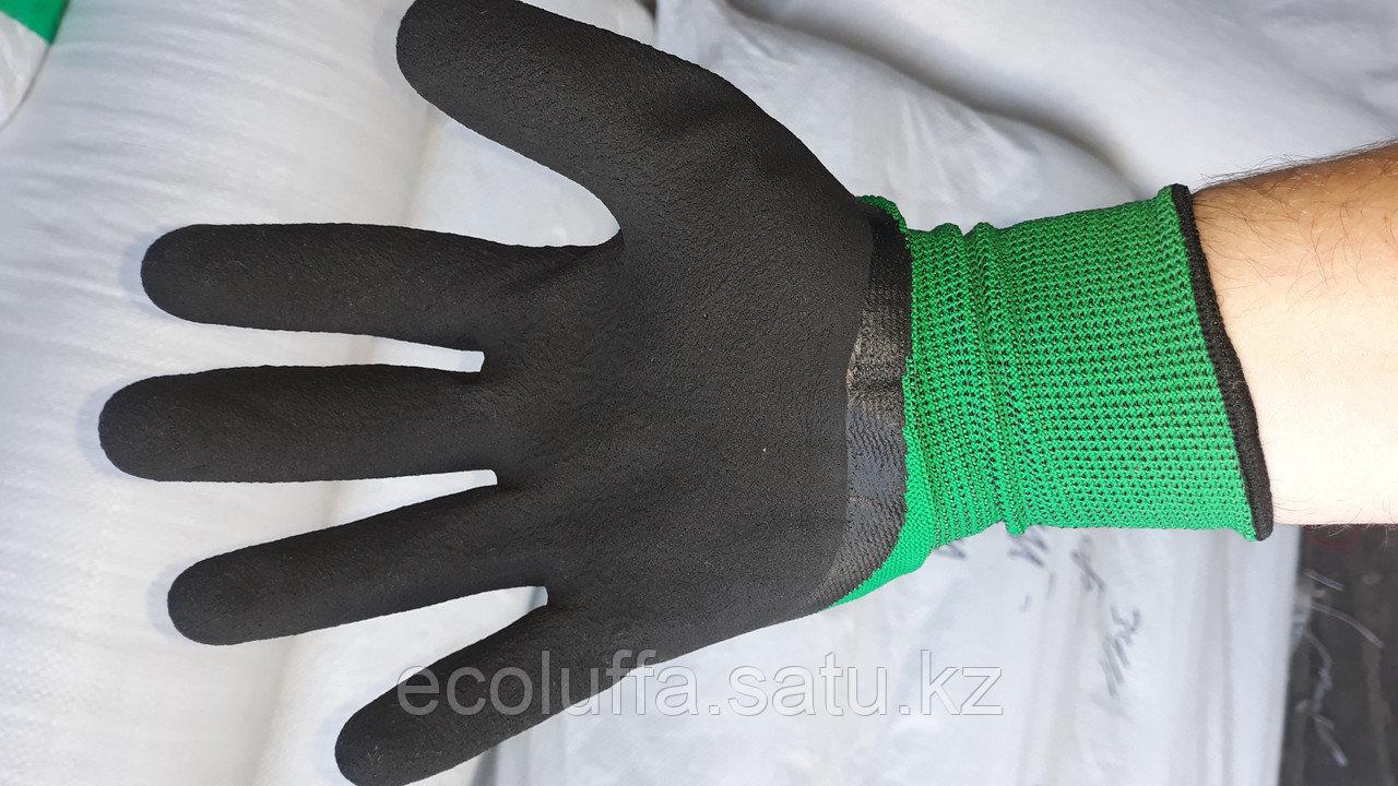 Перчатки с покрытием латексная пена