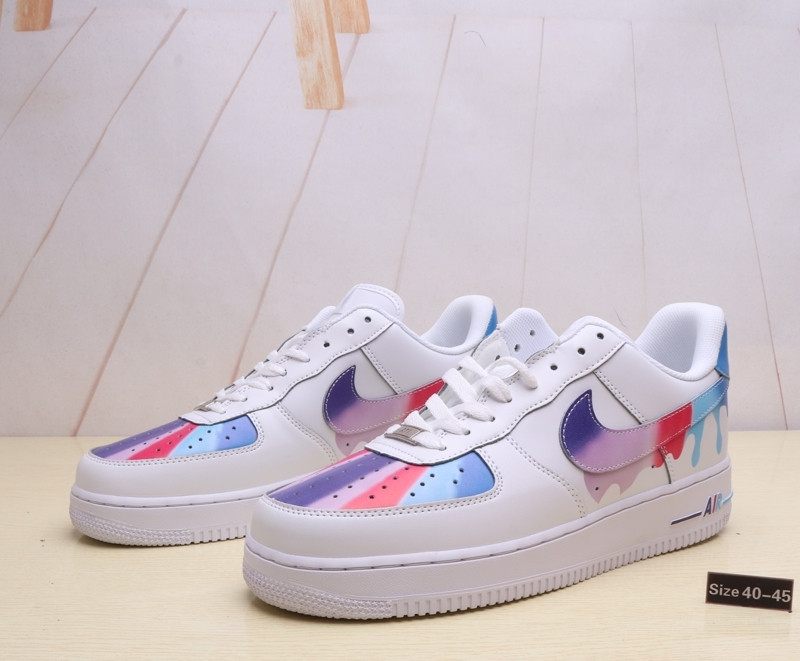 "Кроссовки Nike Air Force 1 ""Leaking Paint"" (40-45)"
