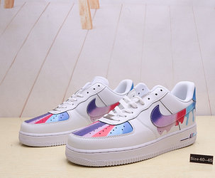"Кроссовки Nike Air Force 1 ""Leaking Paint"" (40-45), фото 2"