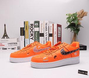 "Кроссовки Nike Air Force 1 ""Orange Street"" (36-44), фото 2"