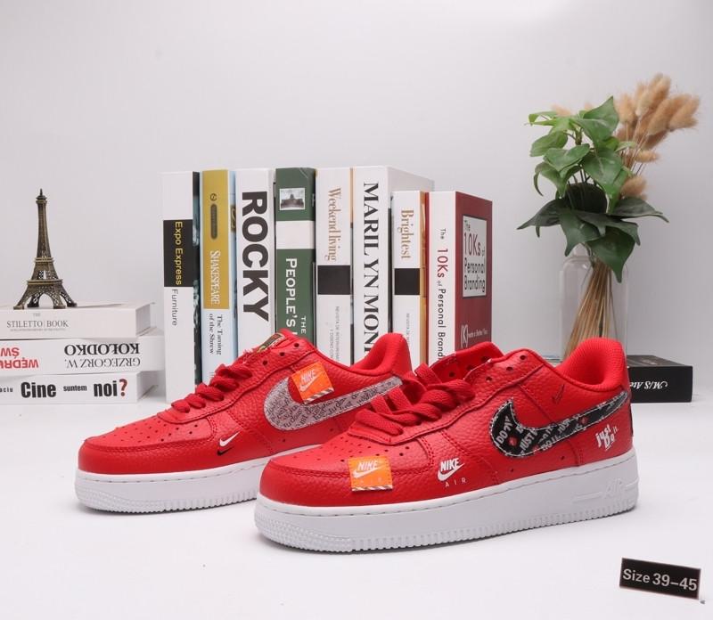 "Кроссовки Nike Air Force 1 ""Red Street"" (39-45)"