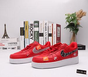 "Кроссовки Nike Air Force 1 ""Red Street"" (39-45), фото 2"