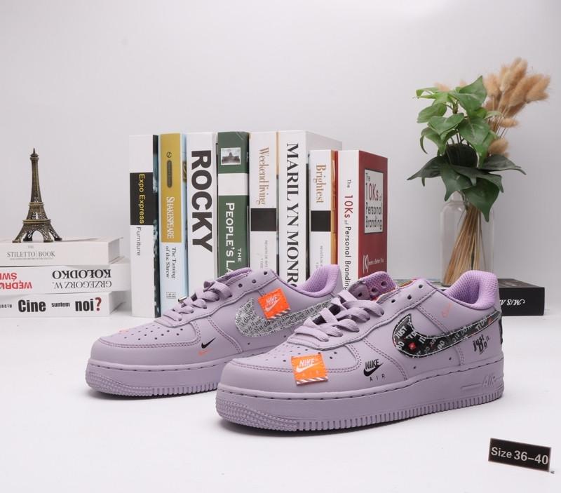 "Кроссовки Nike Air Force 1 ""Purple Street"" (36-40)"