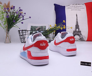 """Кроссовки Nike Air Force 1 """"White\Red\Blue"""" (36-40), фото 2"""