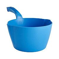 Круглый ковш Vikan, 2 л, синий цвет