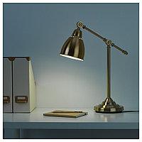 БАРОМЕТР Лампа рабочая, желтая медь, желтый