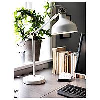 РАНАРП Лампа рабочая, белый с оттенком, белый с оттенком