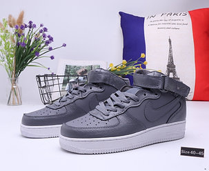 "Кроссовки Nike Air Force 1 High ""All Gray"" (40-45), фото 2"