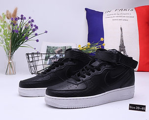 "Кроссовки Nike Air Force 1 High ""All Black"" (39-45), фото 2"