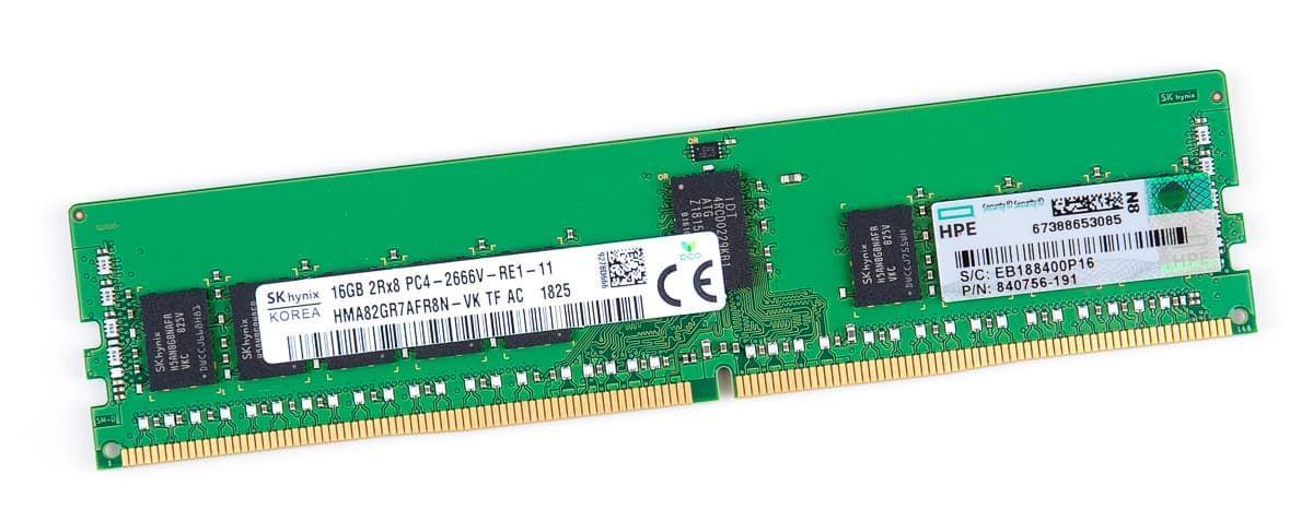 Оперативная память HPE 16GB 2Rx8 PC4-2666V-R 838089-B21