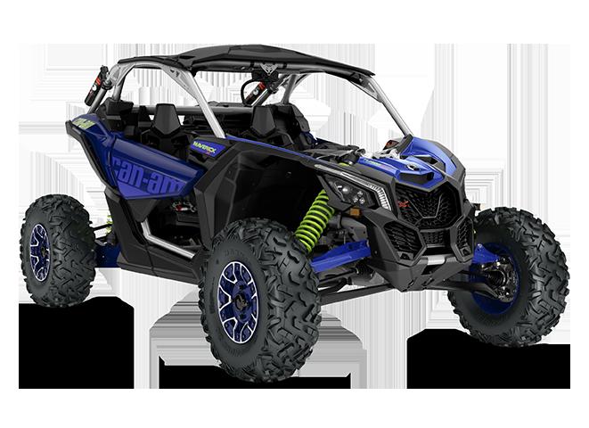 Мотовездеход BRP Can-Am Maverick X rs Turbo RR 900 Синий 2020 INT