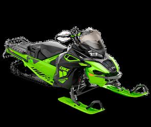 Снегоход XTerrain Brutal 850 E-TEC Черно-зеленый 2021