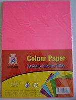 Бумага A4,80гр/100л. розовый неон