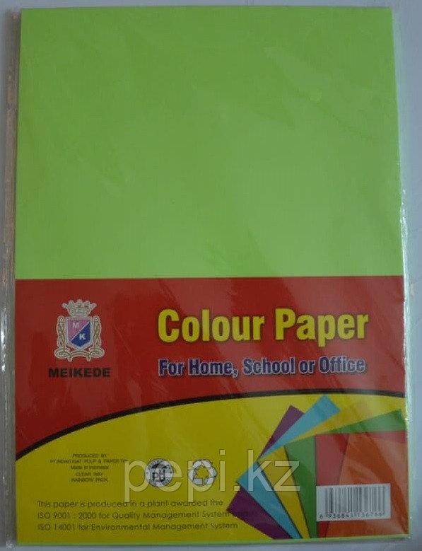 Бумага A4,80гр/100л. салатовый неон