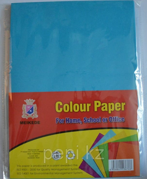 Бумага A4,80гр/100л. синий