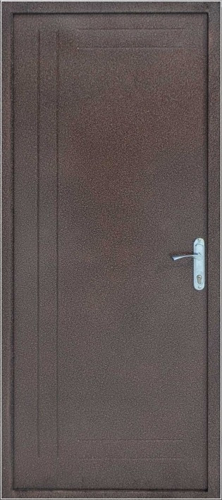 Уличные металлические двери Эконом «Т-03»