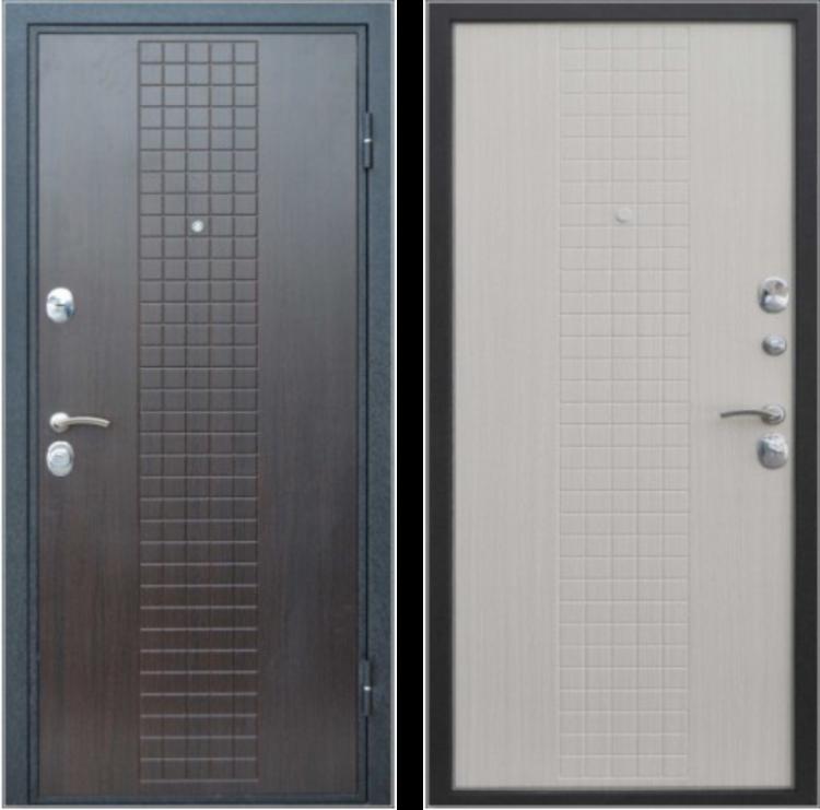 Двери входные металлические Клетка