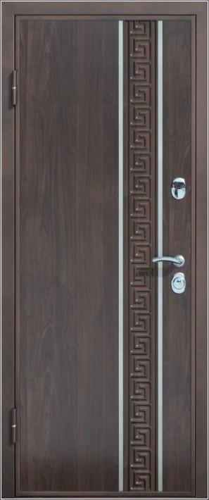 Дверь входная металлическая утепленная Классик Вертикаль