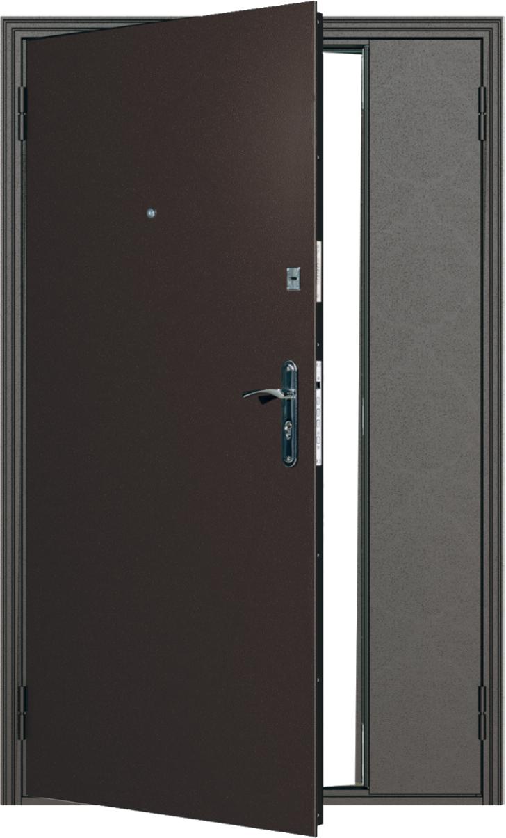 Металлические двери в квартиру ДС 734 1200 м/м